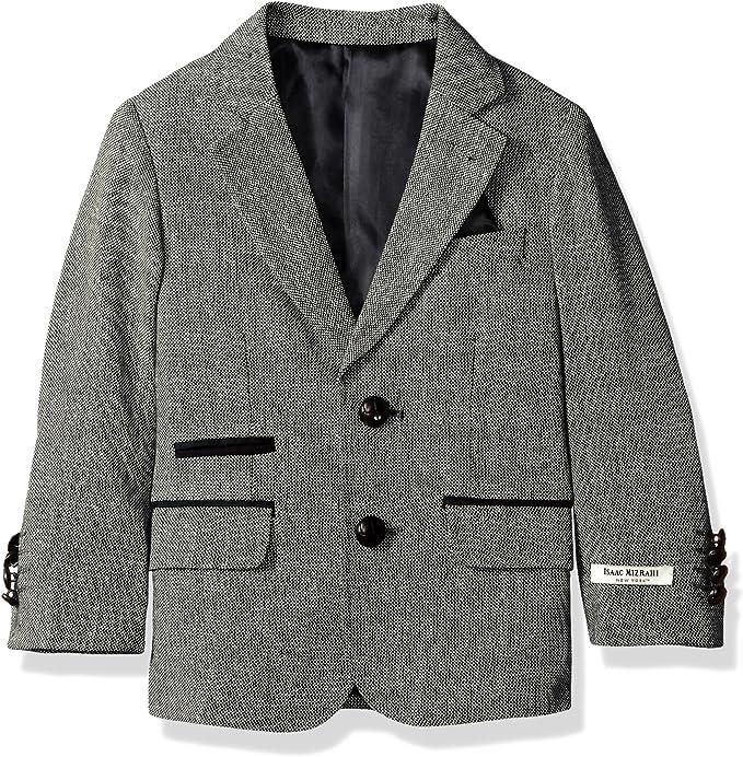 Boy/'s Sport Coat Houndstooth Blazer Jacket Kids Toddler Formal Wear Size 2T-20