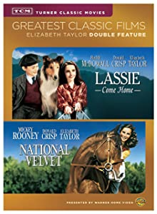 TCM Lassie Come Home/National Velvet (DVD)(DBFE)