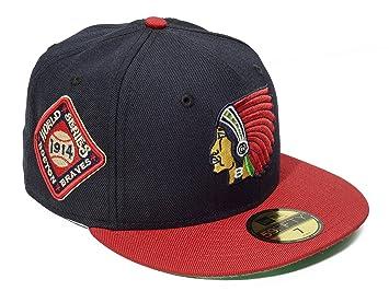 6b7237b69 New Era 59Fifty Team Side Patch MLB Boston Braves World Series 1914 Size 8