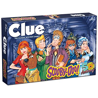 CLUE: Scooby Doo! Board Game   Official Scooby-Doo! Merchandise Based on The Popular Scooby-Doo Cartoon   Classic Clue Game Featuring Scooby-Doo Characters   Gather The Gang and Solve The Mystery!: Toys & Games