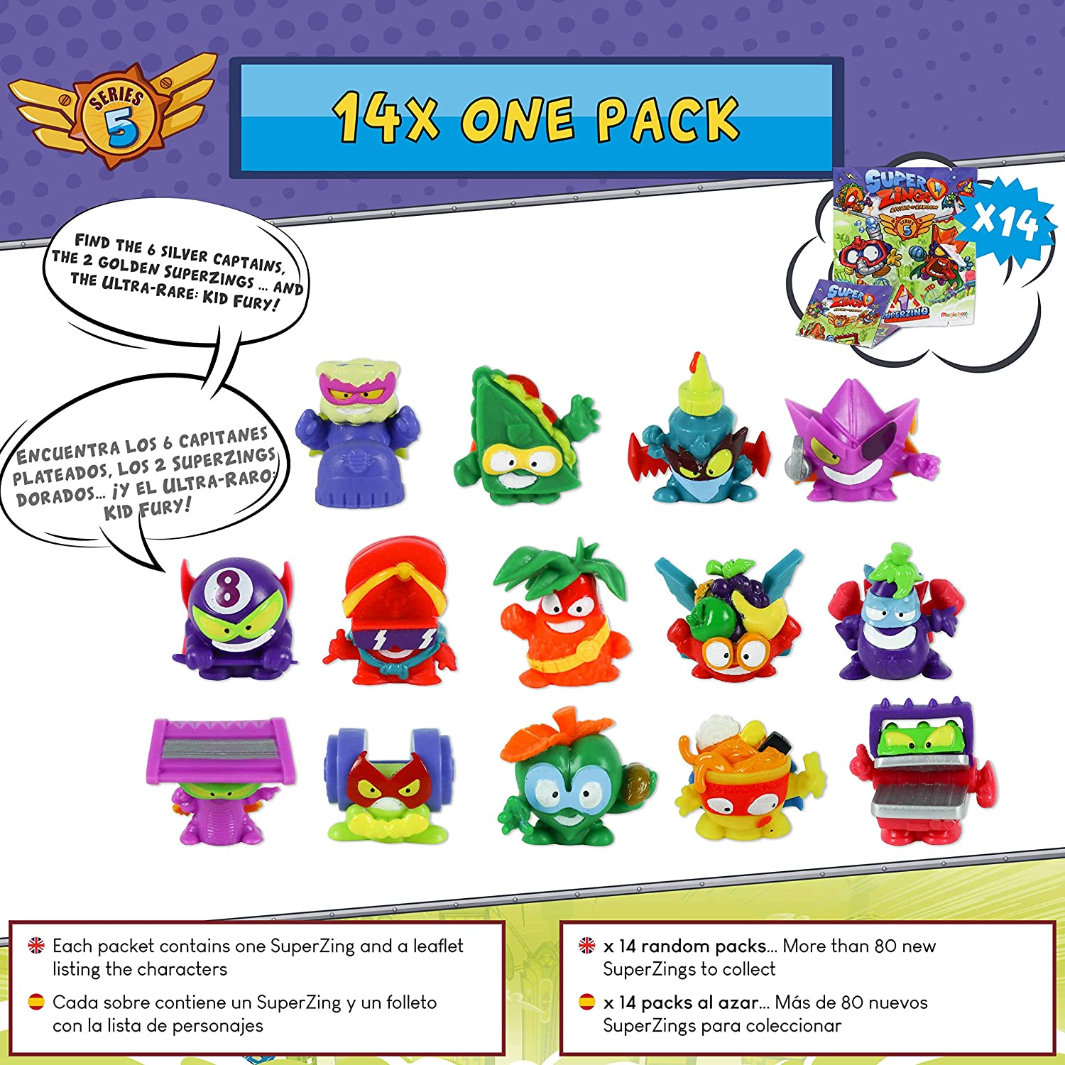 SuperZings Serie 5 - Total Demolition Mission 2 y Pack Sorpresa ...