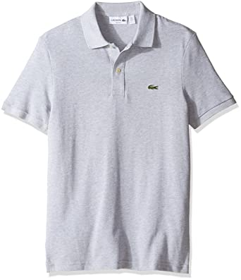 e6326f169817 Lacoste Men s Standard Short Sleeve Slim Fit Pique Polo