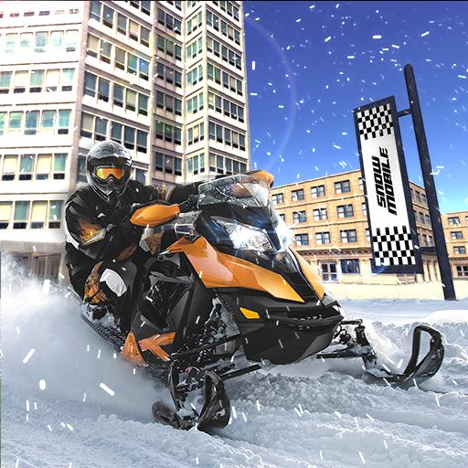 Drive Snowmobile Simulator