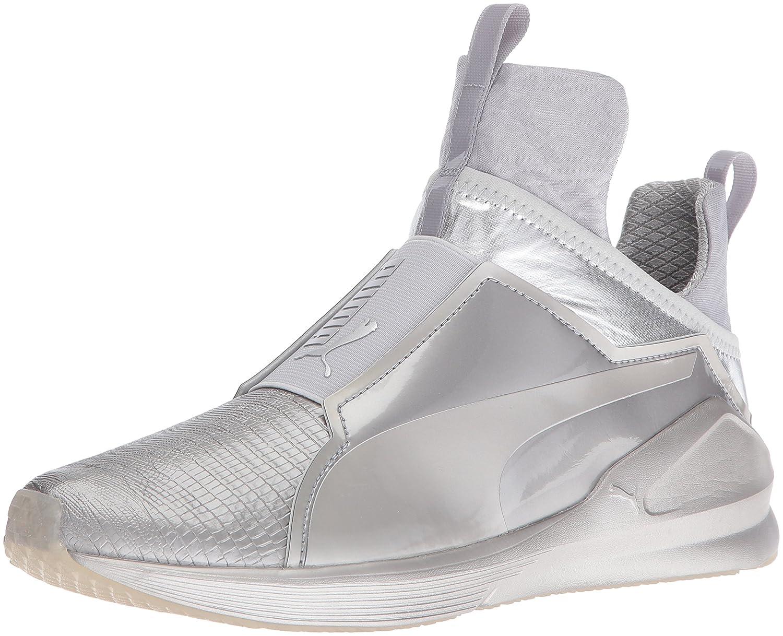 PUMA Women's Fierce Metallic Cross-Trainer Shoe B01FE0HI78 8 B(M) US|Silver