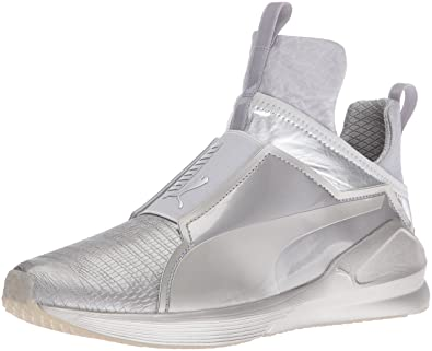 Puma Fierce Metallic Womens Silver S223065TT Shoes