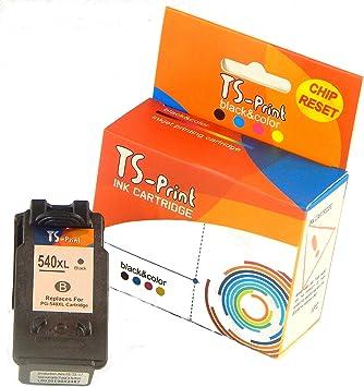 TS Print Cartucho de Tinta PG-540XL Negro para Canon Pixma TS5150 ...