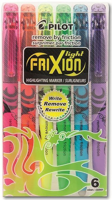 35 opinioni per Pilot 4136S6- Confezione da 6 evidenziatori FriXion Light, colore: