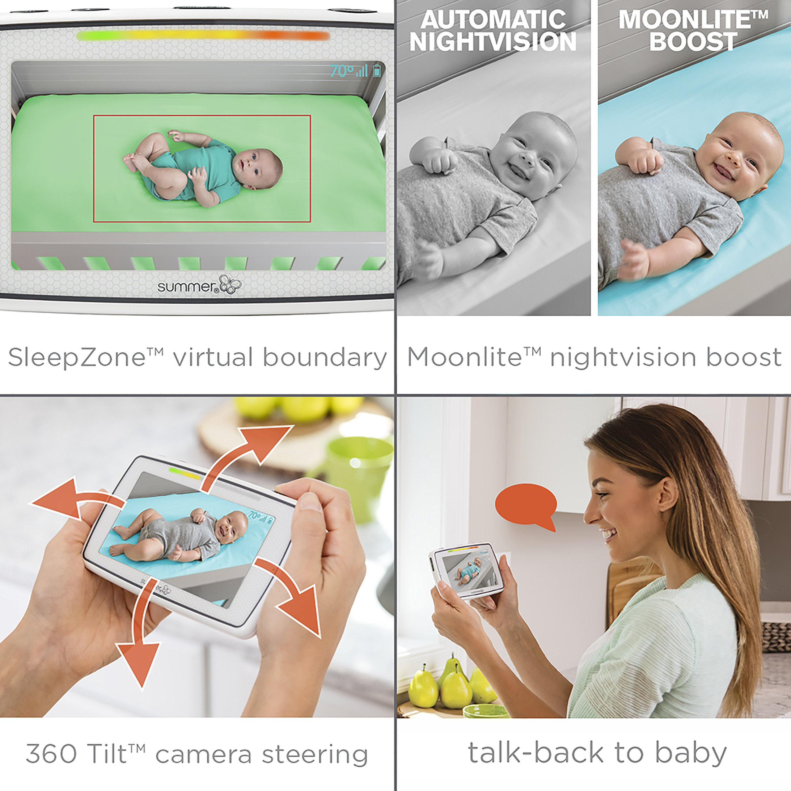 Summer Infant Baby Pixel Color Video Monitor (Monitor, Baby Pixel) by Summer Infant (Image #2)