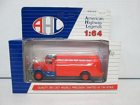 Amazon Com Hartoy Ahl L01062 Gulf Gasoline Truck 1 64 Toys Games