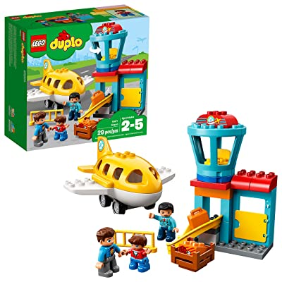 LEGO DUPLO Town Airport 10871 Building Blocks (29 Pieces): Toys & Games