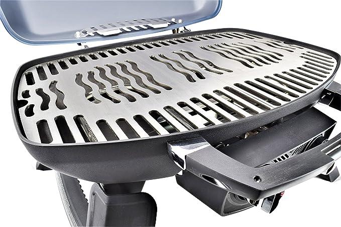 Edelstahl Grillplatte Für Gasgrill : Bbq toro edelstahl grillplatte passend für weber q200 serie