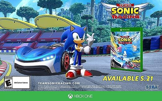 Team Sonic Racing for Xbox One [USA]: Amazon.es: Sega of America ...