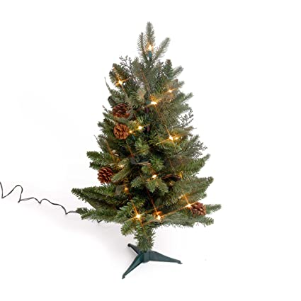 Bethlehem Lighting GKI 2-Foot Green River Spruce Christmas Tree Pre-lit  with 35 - Amazon.com: Bethlehem Lighting GKI 2-Foot Green River Spruce