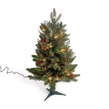 Amazon.com: GKI Bethlehem Lighting 2-Foot Green River Spruce ...
