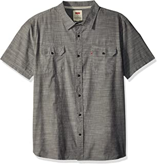 Levis Mens Huxley Short Sleeve Woven Shirt