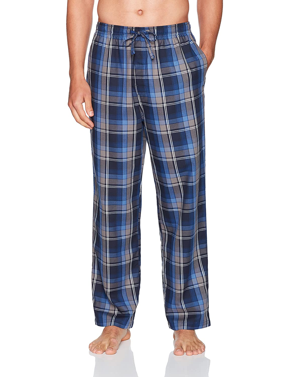 Haggar Men's Woven Large Plaid Lounge Pant HML7F427-R06
