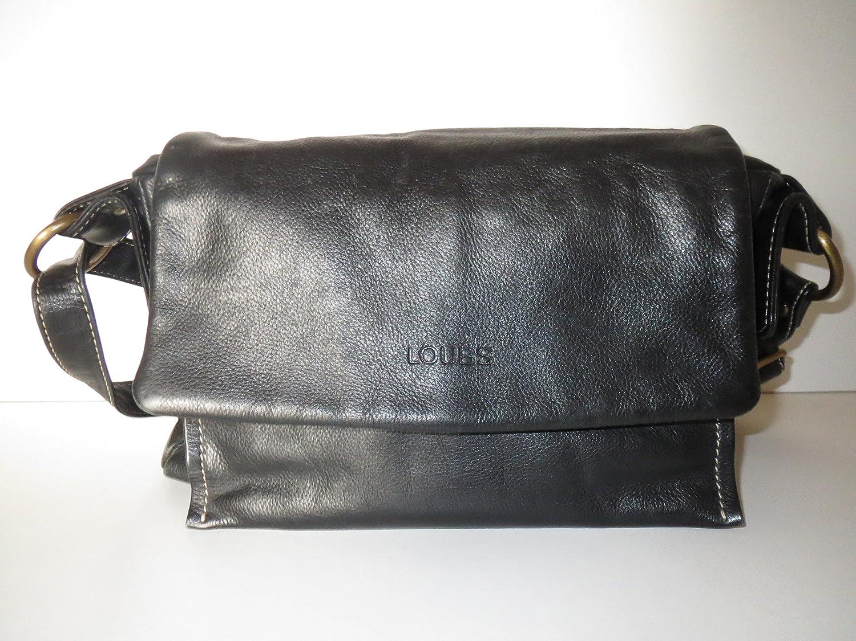 the best attitude 1dc45 9ee8c LOUBS Women's Shoulder Bag BLACK: Amazon.co.uk: Luggage