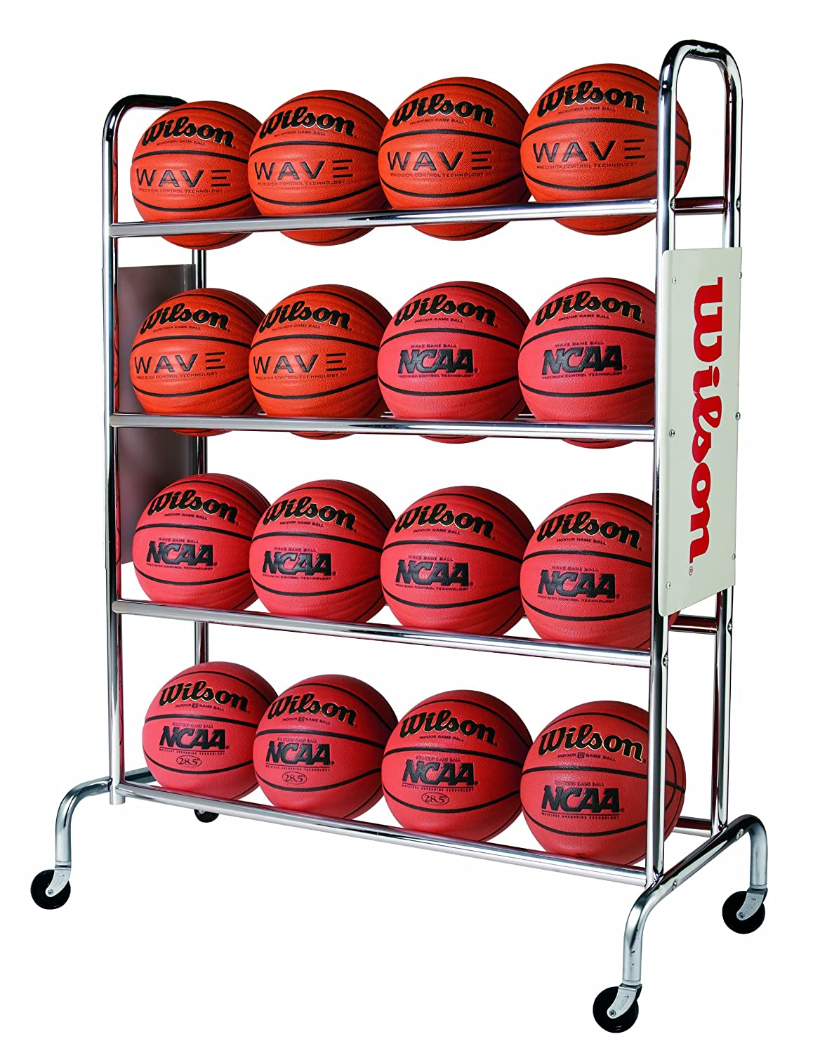 Wilson Deluxe Basketball Ball Rack WTB1801