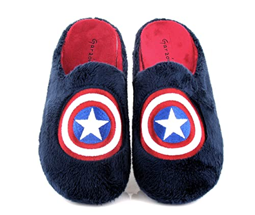 Gonvi, Chinela de casa Marino Capitán América de Hombre: Amazon.es: Zapatos y complementos