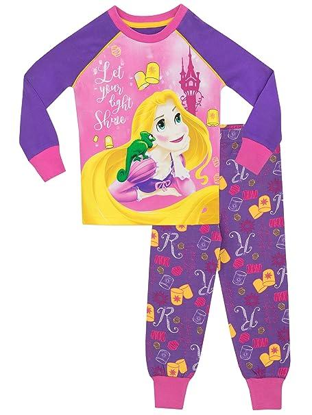 Princesas Disney - Pijama para niñas - Enredados Rapunzel - Ajust Ceñido - 18 - 24
