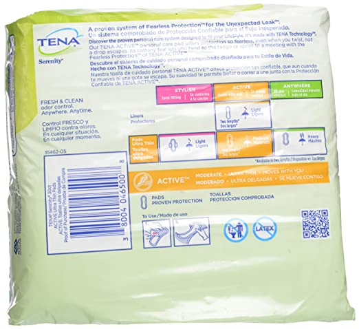 Amazon.com : TENA Intimates Natural Protection Ultra Thins 30 Each : Grocery & Gourmet Food