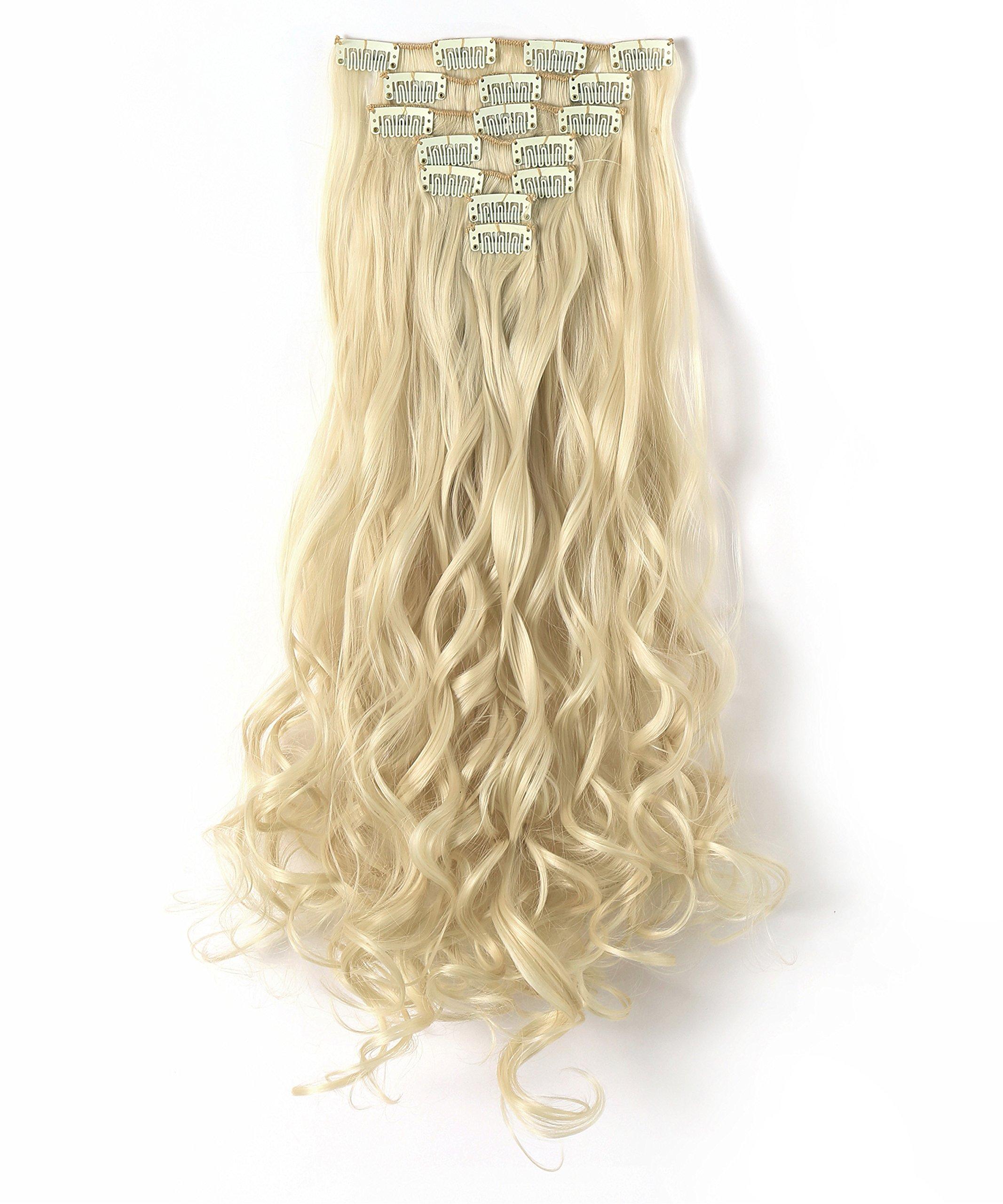 Amazon S Noilite 23 Straightcurly Bleach Blonde Full Head