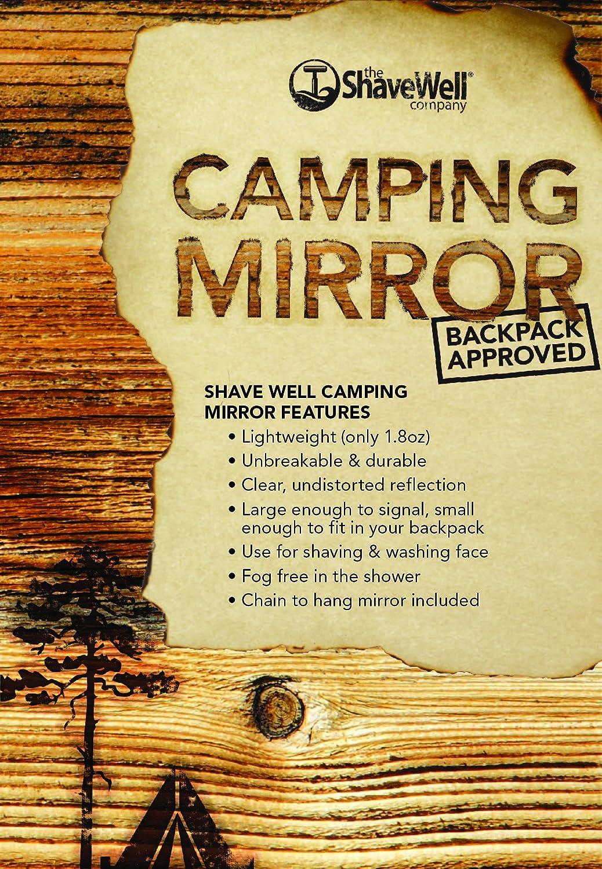 Lo Specchio infrangibile da Campeggio Shave Well – A Prova di Zaino The Cumberland Companies Ltd. SW-004