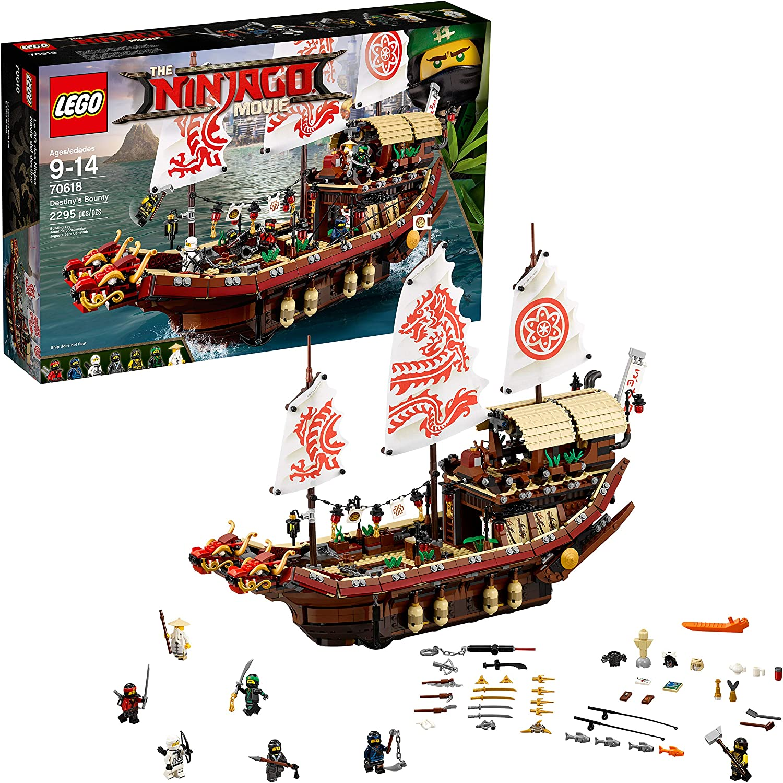 Lego Ninjago Set 3 White Red Cloth Sails Oriental Dragon Destiny/'s Bounty 70618