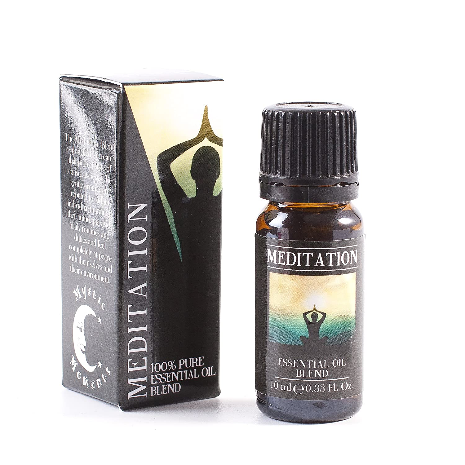 Meditation Essential Oil Blend - 10ml - 100% Pure Mystic Moments EOBMED10
