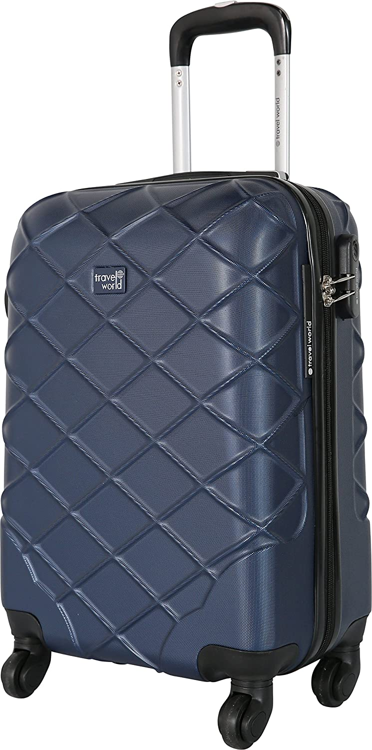 TRAVEL WORLD - Valise Cabine Rigide ABS 55cm à 8 Roues - MCN