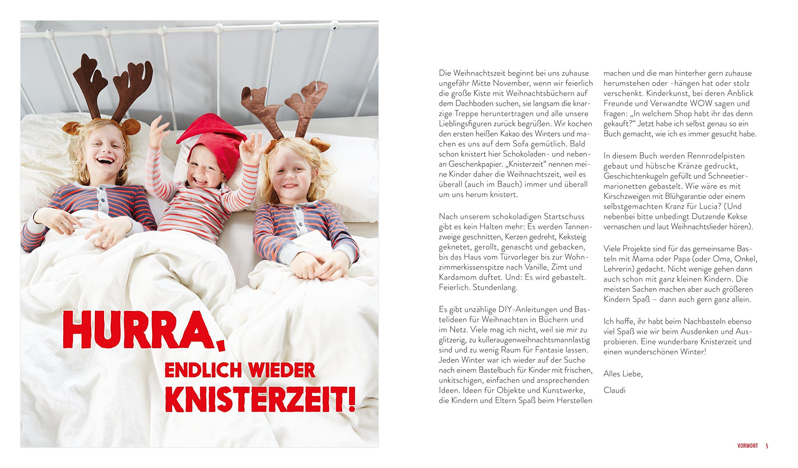Das Kinderkunst-Kreativbuch - Winter und Weihnachten: 9783863557904 ...