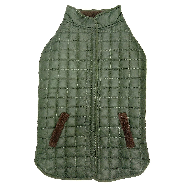 Fashion Pet 753084 Reversible Ski Jacket, Small, Olive