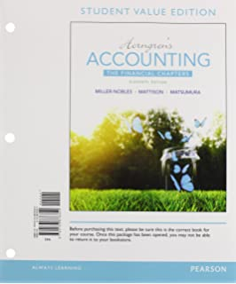 Payroll accounting a practical real world approach cpa eric a horngrens accounting the financial chapters student value edition plus myaccountinglab with pearson etext fandeluxe Choice Image