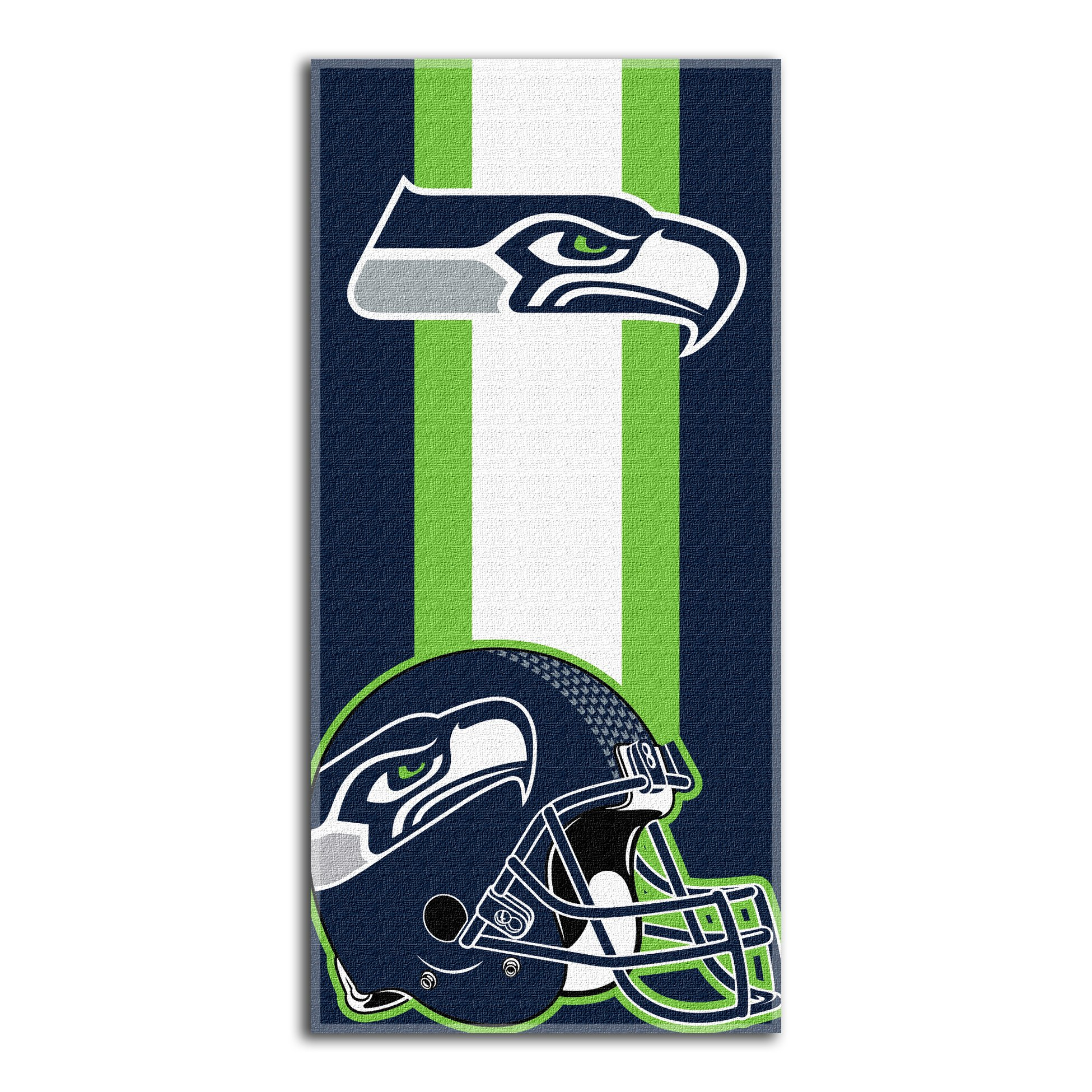 The Northwest Company NFL Seattle Seahawks Zone Read Beach Towel, 30-inch by 60-inch