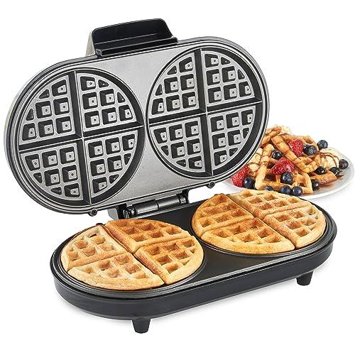 gourmet gadgetry waffle maker retro diner waffle maker. Black Bedroom Furniture Sets. Home Design Ideas