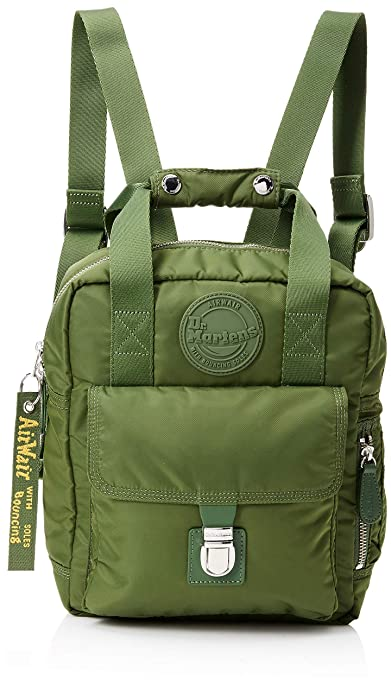 82eea360921a Dr. Martens Unisex-Adult Small Nylon Backpack Backpack Green (Olive Green)