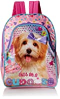 Underrated Girls Cute Book Bag Small 3D School Camp Puppy Kitty Cat Backpack