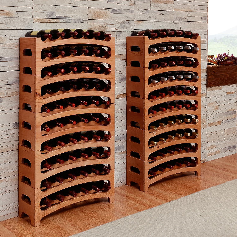 tagre vin casier bouteilles empilables bouquet pour bouteilles h x l x p cm amazonfr bricolage. Black Bedroom Furniture Sets. Home Design Ideas