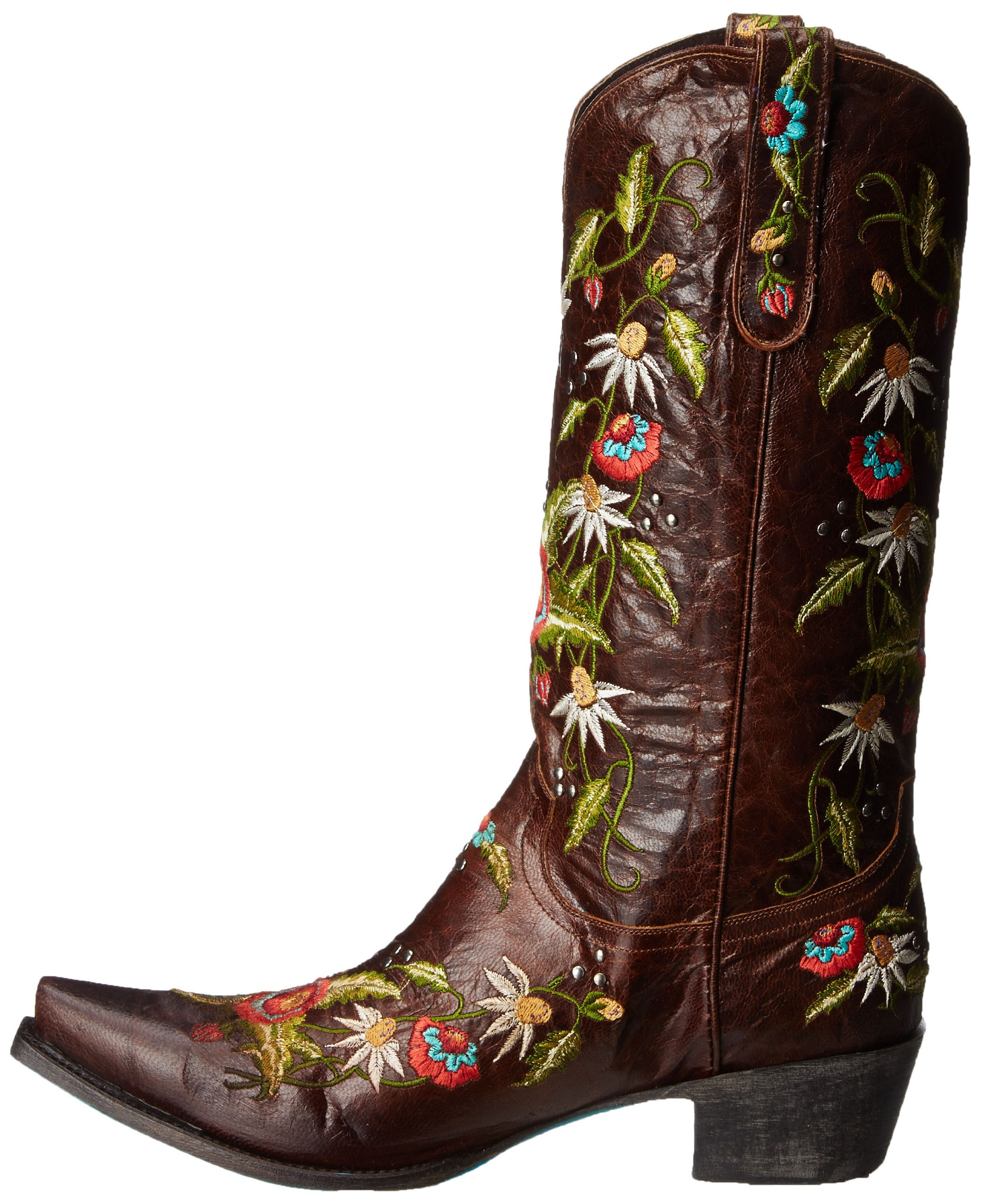Lane Boots Women's Summer Bounty Studs Western Boot,Brown,10.5 B US by Lane Boots (Image #5)