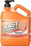 Permatex 25219-4PK Fast Orange Pumice Lotion Hand Cleaner with Pump, 1 Gallon (Pack of 4)