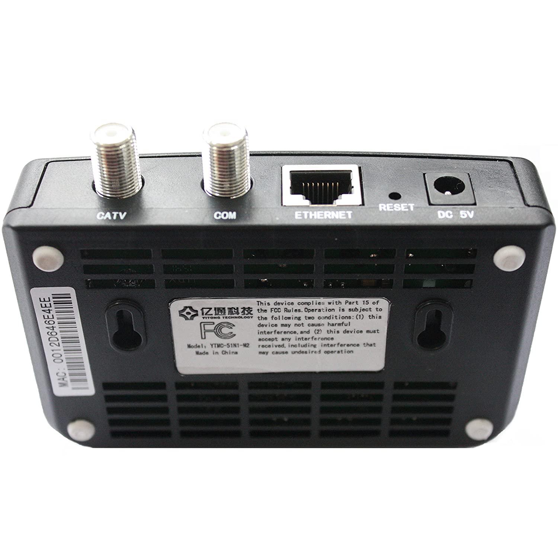 Yitong Technology Moca 20 Ethernet To Coax Adapter Tivo Ytmc 51n1 Wiring Diagram Hi Resolution Images