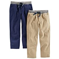 Toddler Boys' 2-Pack Pull On Pant