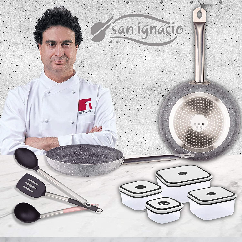 Amazon.com: San Ignacio PK1406 Foodies Set of 2 Frying Pans ...