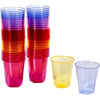 ARC-Gobelets jetables cristal - 250 ml-Lot de 50 gobelets en plastique gobelets en polystyrène