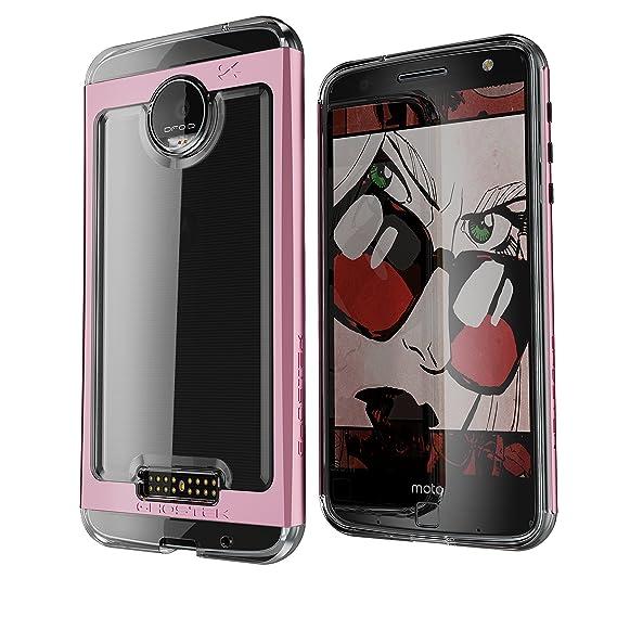 online store 0aa77 b7913 Amazon.com: Moto Z Force Case, Ghostek Cloak 2 Series for Motorola ...