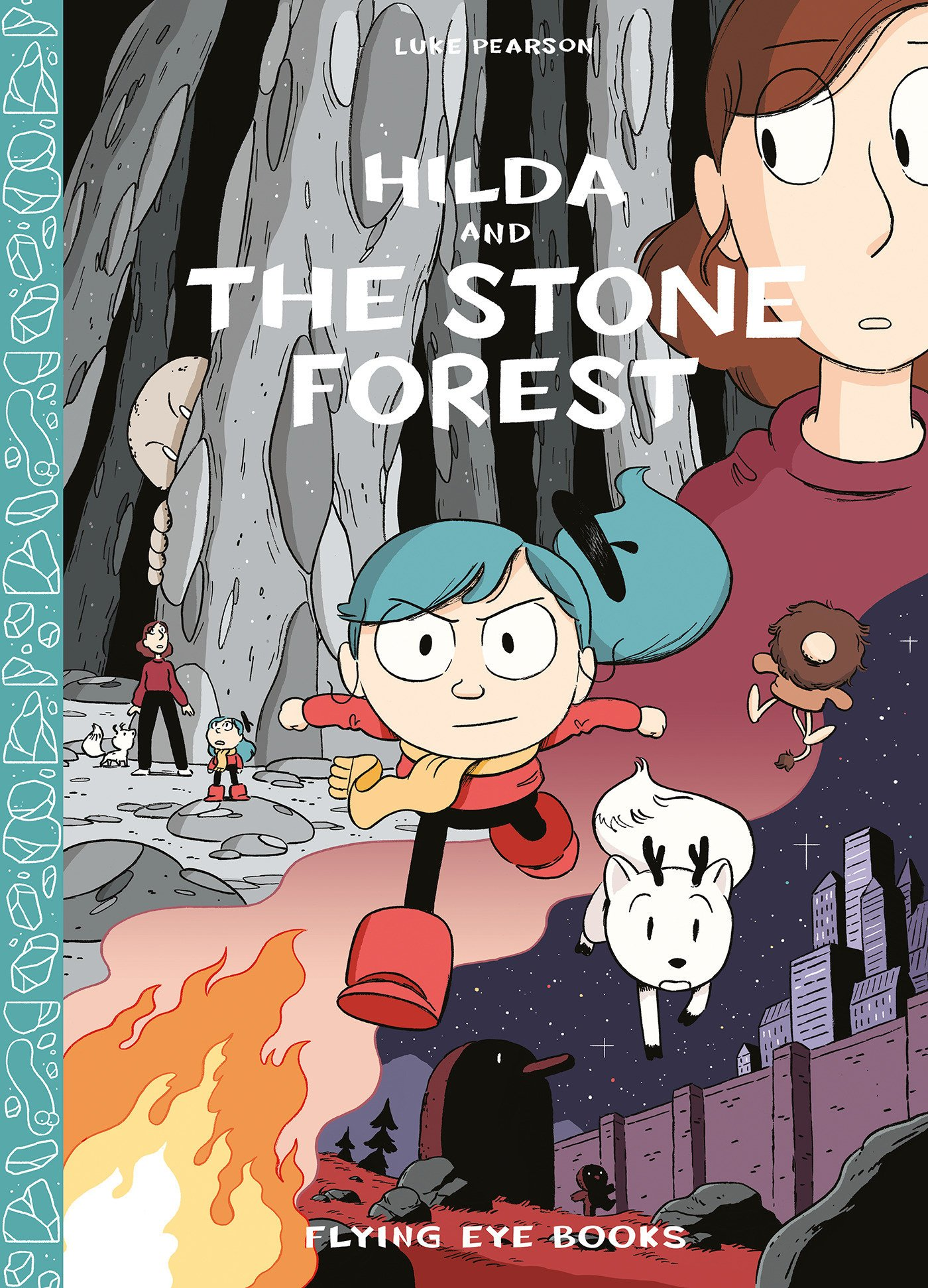 Image result for hilda and the stone forest book cover