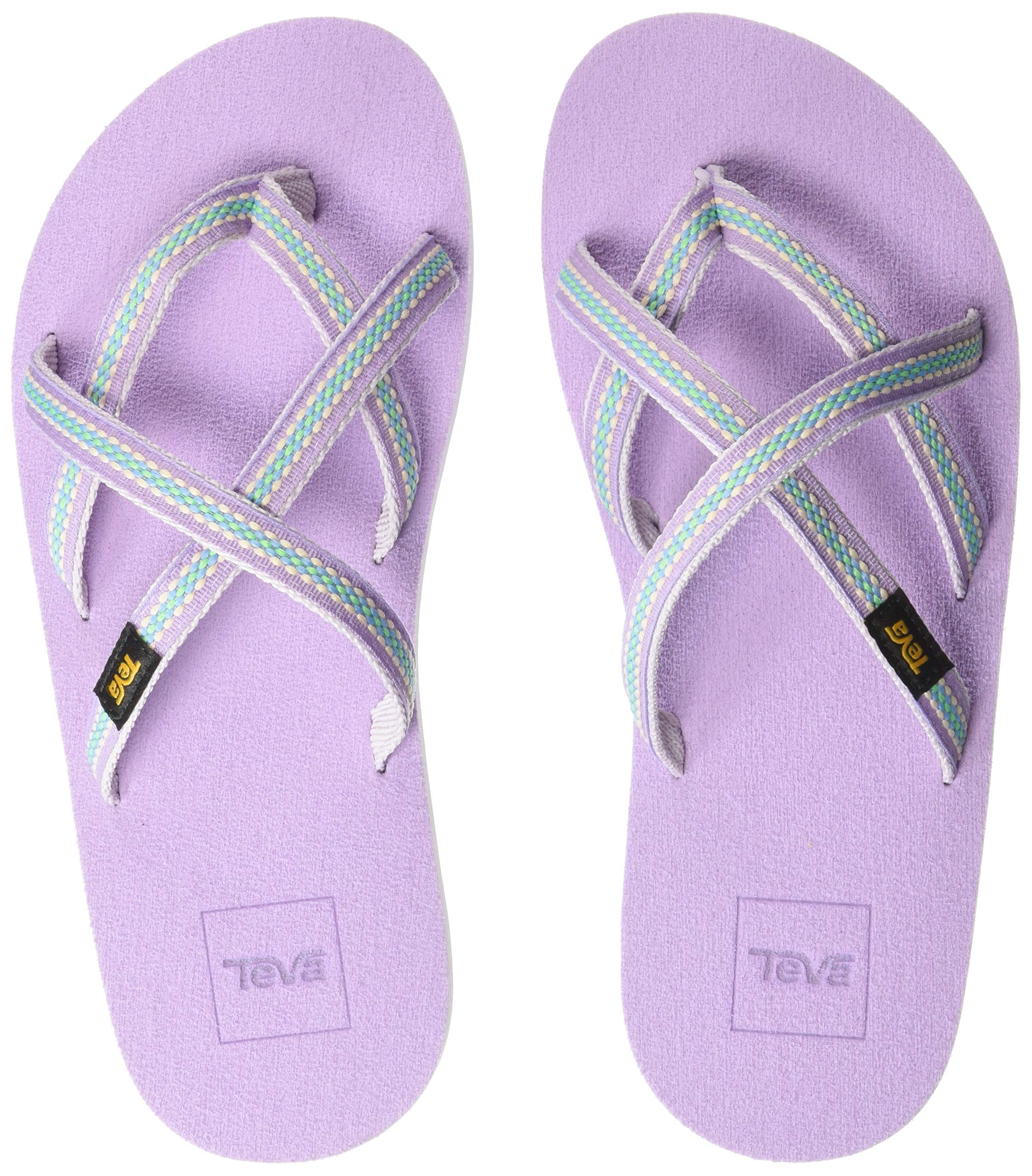 Teva Girls' Y Olowahu Sport Sandal, Lindi Orchid Bloom, 7 Medium US Big Kid by Teva (Image #1)