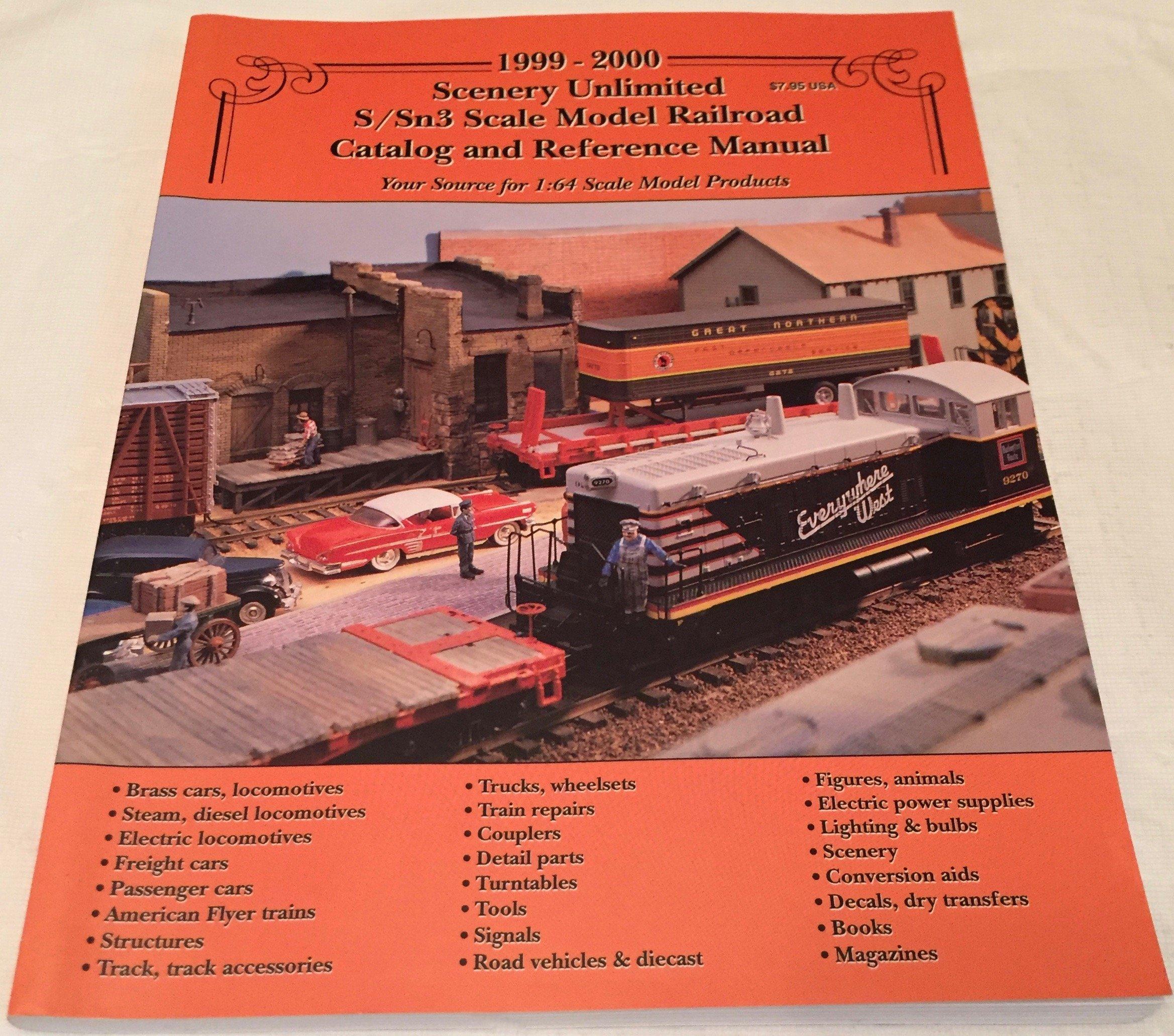 1999-2000 Scenery Unlimited S/Sn3 Scale Model Railroad
