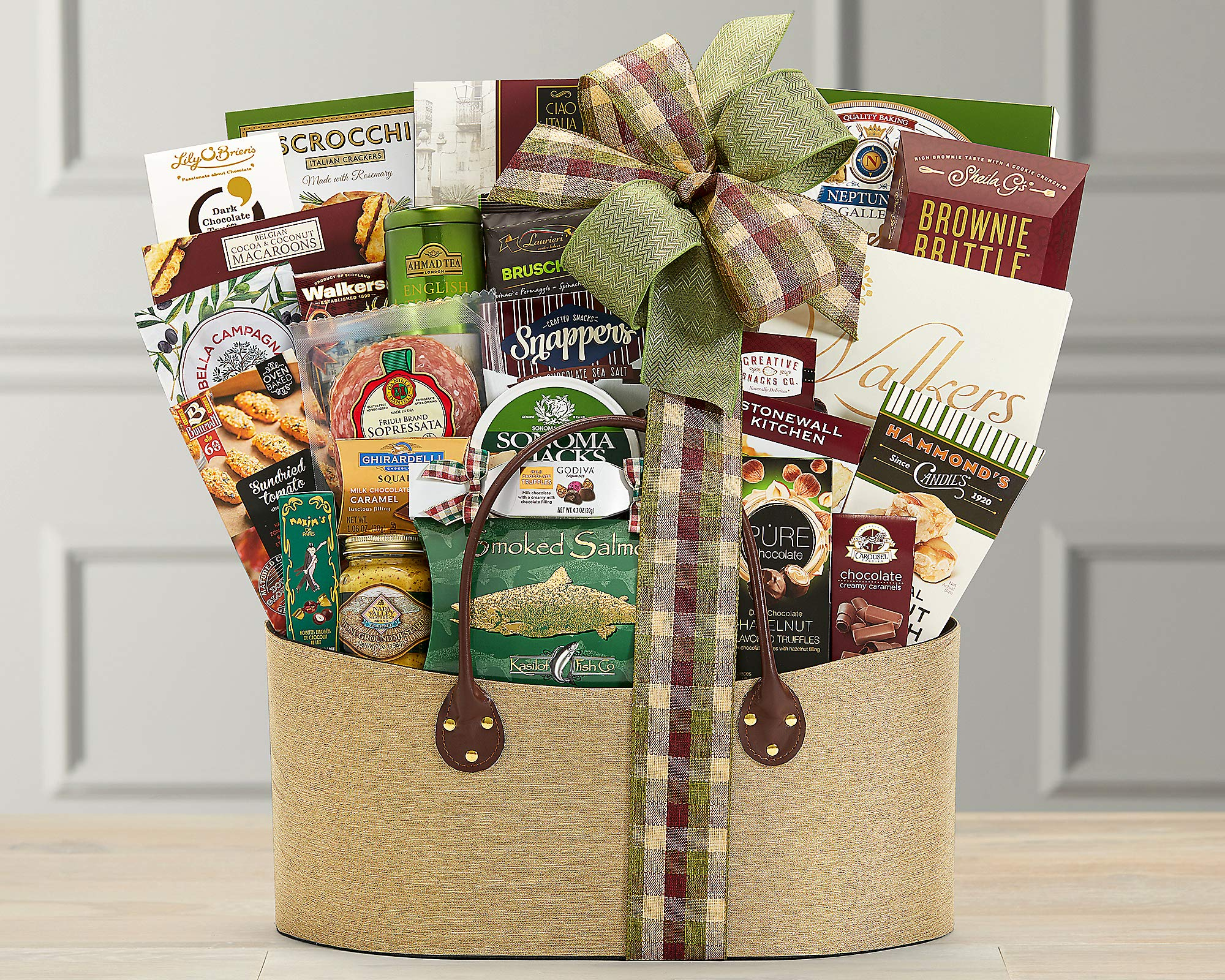 Wine Country Gift Baskets Gourmet Choice Gift Basket. Perfect For Any & All Occasions. Retirement, Birthday, Celebration, Sympathy & Appreciation. Featuring An Extravaganza of Award Winning Brands by Wine Country Gift Baskets (Image #2)