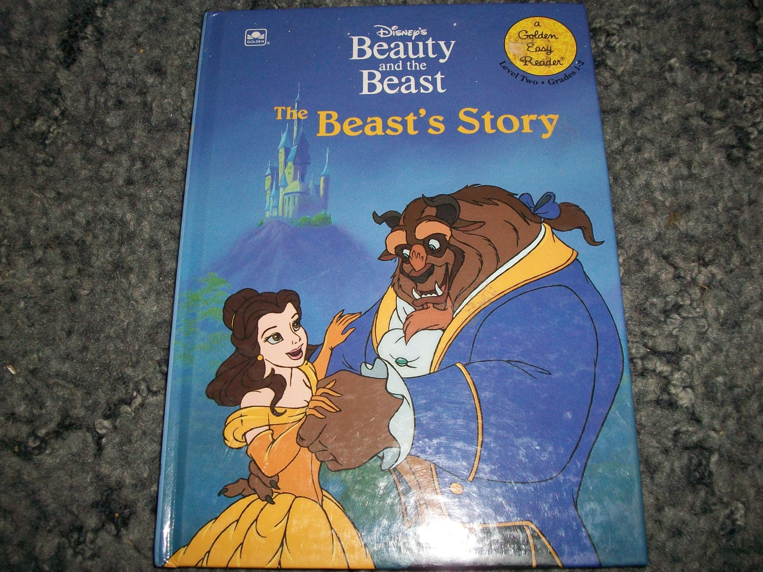 amazon disney s beauty and the beast the beast s story golden